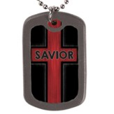 Savior, Faith Tag Necklace