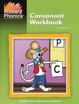 Primary Phonics Consonant Workbook  (Homeschool Edition)