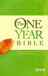 NIV The One Year Bible