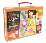 Magnificent World of ABC Food, Magnet Travel Case