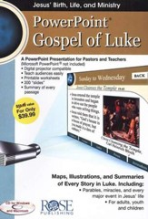 Gospel of Luke: PowerPoint CD-ROM