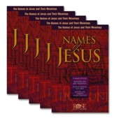 Names of Jesus Pamphlet - 5 Pack