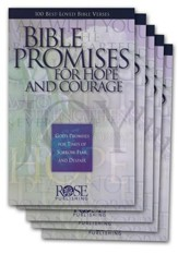 Bible Promises for Hope and Courage, Pamphlet - 5 Pack