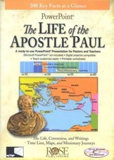 The Life of the Apostle Paul: PowerPoint CD-ROM - Slightly Imperfect