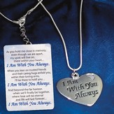 I Am With You Always, Necklace & Gift Card
