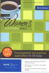 NIV New Women's Devotional Bible, Hardcover  - Slightly Imperfect