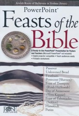 Feasts of the Bible: PowerPoint CD-ROM