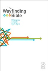 The NLT Wayfinding Bible, Hardcover - Slightly Imperfect