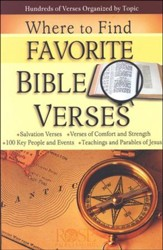 Where to Find Favorite Verses