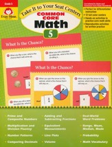 Take It to Your Seat Centers: Common Core Math, Grade 5