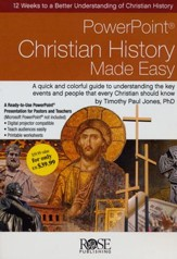Christian History Made Easy: PowerPoint CD-ROM - Slightly Imperfect