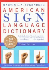 American Sign Language Dictionary, Revised