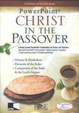 Christ in the Passover: PowerPoint CD-ROM - Slightly Imperfect