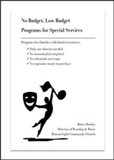 No Budget, Low Budget: Programs for Special Services