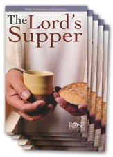 The Lord's Supper, Pamphlet - 5 Pack
