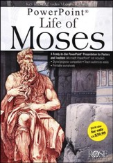 Life of Moses - PowerPoint CD-ROM