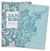 Biblia Compacta NTV, SentiPiel Azul Claro  (NTV Compact Bible, Light Blue Imit. Leather)  - Imperfectly Imprinted Bibles