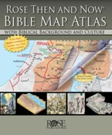 Rose Then and Now Bible Map Atlas - Slightly Imperfect