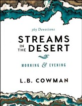 Streams in the Desert: Morning & Evening  - Slightly Imperfect