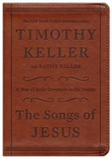 The Songs of Jesus: A Year of Daily Devotions in the  Psalms, Imitation leather, brown, CBD Exclusive