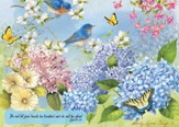 Do Not Be Afraid (Hydrangea Garden), 1000 Piece Jigsaw Puzzl  e (John 14:27)