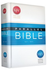 KJV/MEV Parallel Bible