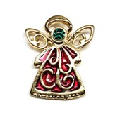 Christmas Angel Pin