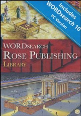 WORDsearch Rose Publishing Library on DVD-ROM