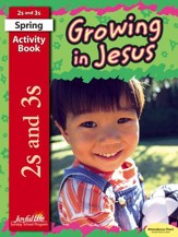 Growing in Jesus (ages 2 & 3) Activity Book