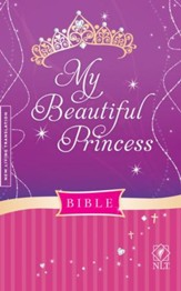 NLT My Beautiful Princess Bible, Hardcover Padded - Slightly Imperfect
