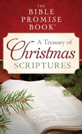 The Bible Promise Book: A Treasury of Christmas Scriptures - Slightly Imperfect