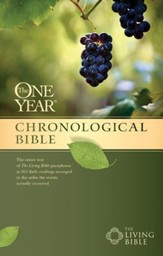 The One Year Chronological Bible TLB - eBook