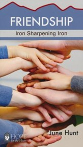 Friendship: Iron Sharpening Iron