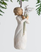 Beautiful Wishes, Lilies Ornament By Willow Tree