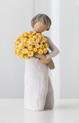 Good Cheer, Flowers Figure By Willow Tree