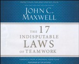 The 17 Indisputable Laws of Teamwork, Abridged audio CD