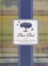 Dear Dad Journal: A Keepsake of Blessings and Memories of Growing Up with You