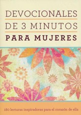 Devocionales de 3 Minutos para Mujeres  (3-Minute Devotions for Women)