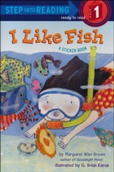 I Like Fish: A Sticker Book