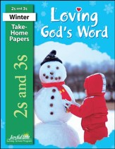 Loving God's Word (ages 2 & 3) Take-Home Papers