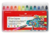Gel Crayons, Set of 12