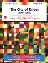 The City of Ember, Novel Units Teacher's Guide, Grades 5-6