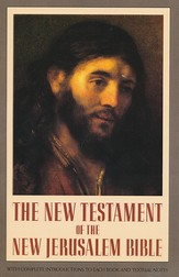 The New Jerusalem Bible, New Testament, Softcover