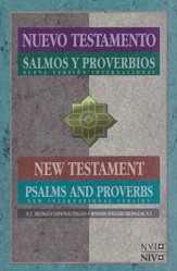 NVI / NIV Spanish/English New Testament with Psalms & Proverbs