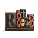 Romans 8:28 Word Plaque