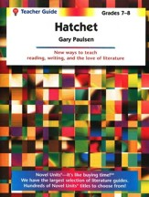 Hatchet, Novel Units Teacher's Guide, Grades 7-8