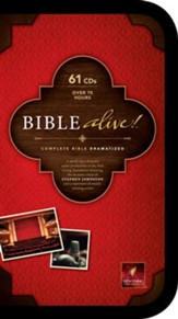 NLT Bible Alive!: Audio Bible on CD