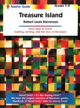 Treasure Island, Novel Units Teacher's Guide, Grades 7-8