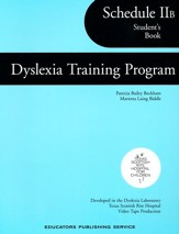 Dyslexia Training Program Schedule  2B, Student