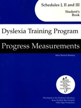 Dyslexia Training Program: Schedules 1-3 Progress